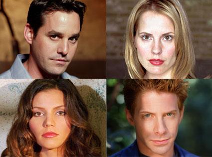 Buffy the Vampire Slayer, Seth Green, Charisma Carpenter, Emma Caulfield, Nicholas Brendan