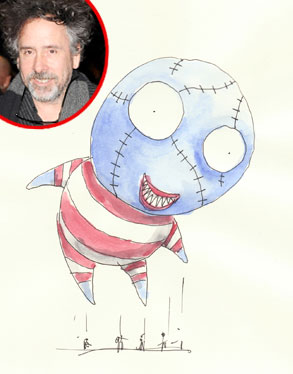 Macy's B. Boy Balloon, Tim Burton