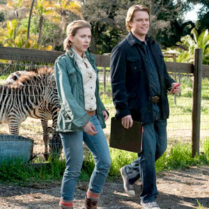 Scarlett Johansson, Matt Damon, We Bought a Zoo