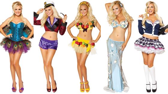 Bridget Marquard, Halloween Costume