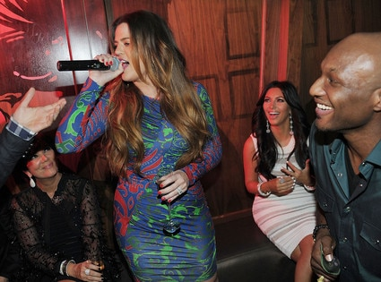 Kim Kardashian, Kris Jenner, Khloe Kardashian Odom, Lamar Odom