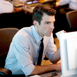 Zachary Quinto, Margin Call