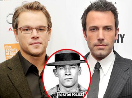 Matt Damon, Ben Affleck, Whitey Bulger