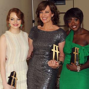 Emma Stone, Allison Janney, Viola Davis