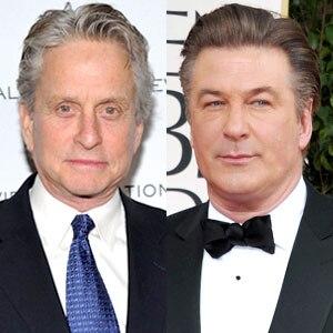 Michael Douglas, Alec Baldwin