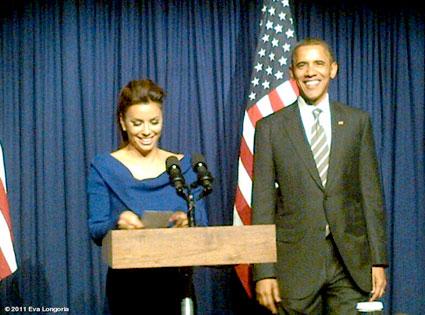Eva Longoria, Barack Obama, WhoSay