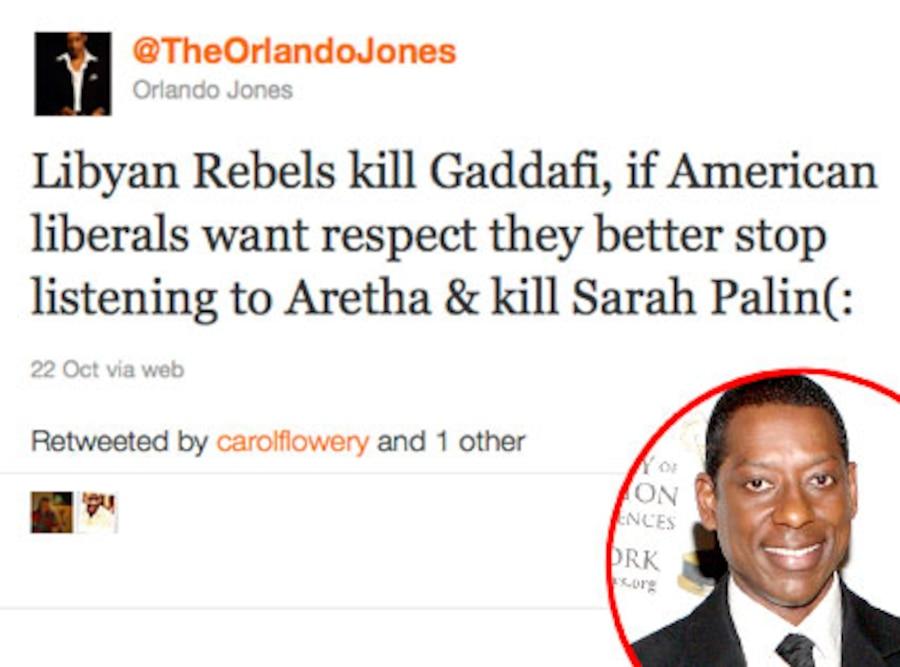 Orlando Jones, Twitter