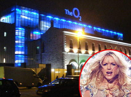 The O2 Arena, Britney Spears