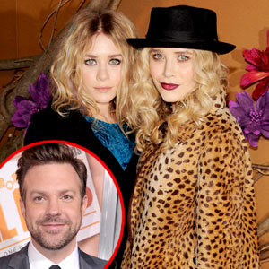 Jason Sudeikis, Mary-Kate Olsen, Ashley Olsen