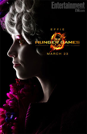 Elizabeth Banks, Hunger Games poster