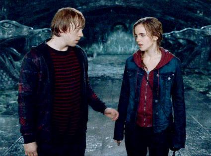Harry Potter and the Deathly Hallows: Part 2, Rupert Grint, Emma Watson