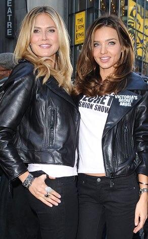 Heidi Klum, Miranda Kerr
