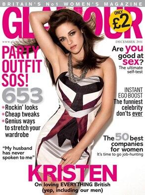 Kristen Stewart, Glamour UK