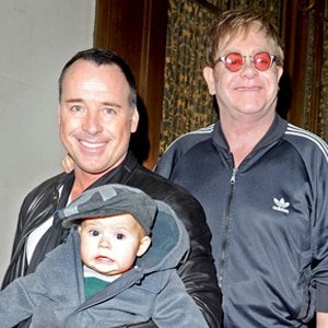 Elton John, David Furnish, Zachary John Furnish
