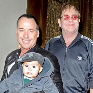 Elton John, David Furnish, Zachary John Furnish