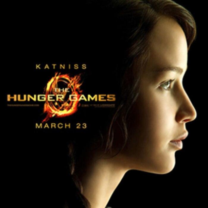 Jennifer Lawrence, Hunger Games Poster