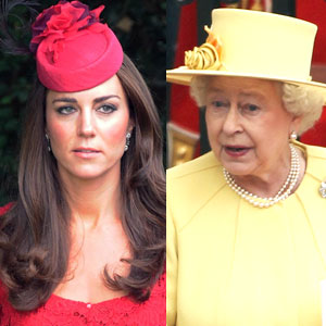 Kate Middleton, Catherine Duchess of Cambridge, Queen Elizabeth