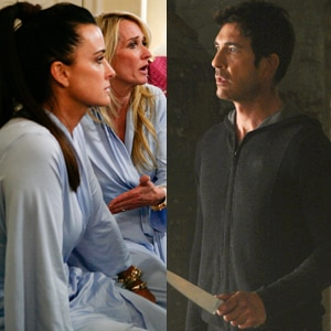 Kyle Richards, Kim Richards, The Real Housewives of Beverly Hills, Dylan McDermott, American Horror Story
