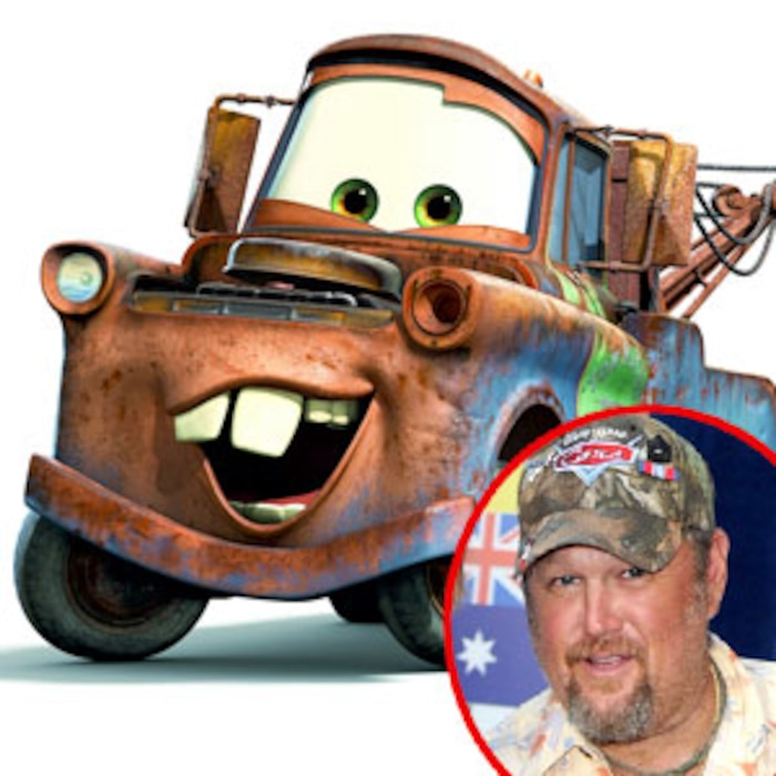 Mater, Cars 2, Larry the Cable Guy