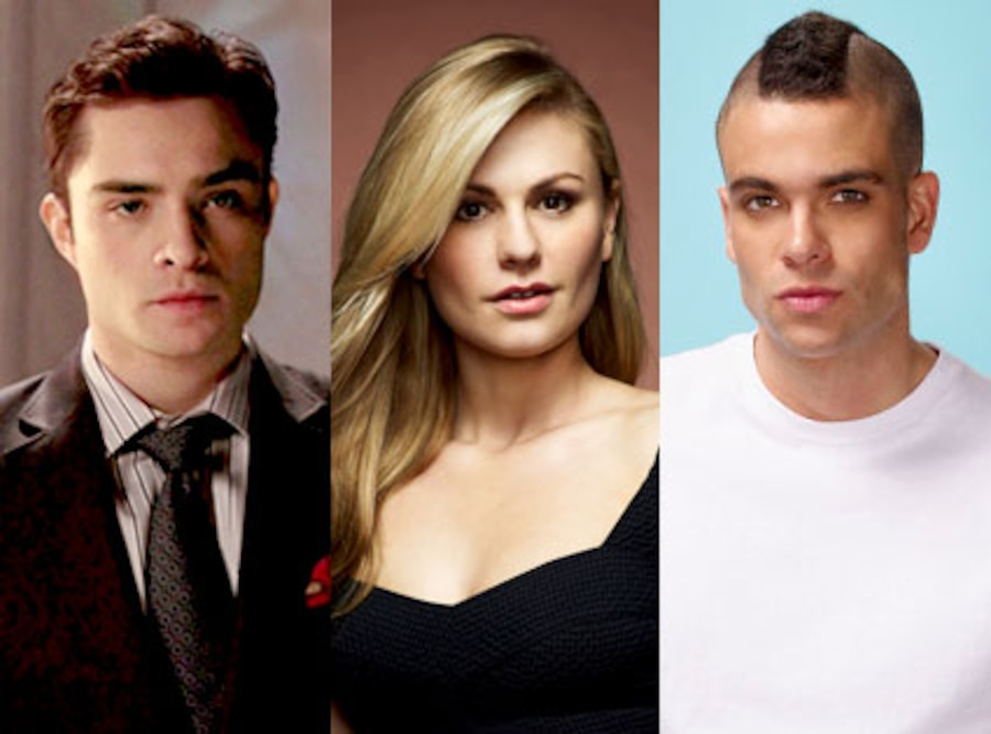 Ed Westwick, Anna Paquin, Mark Salling