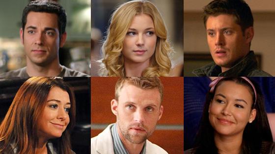 TV Crushes, Levi, Chuck, Vancamp, Revenge, Ackles, Supernatural, Hannigan, How I Met, Spencer, House, Rivera, Glee