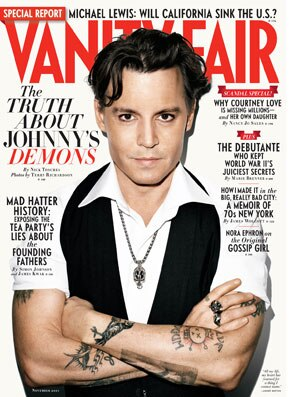 Johnny Depp, Vanity Fair Cover