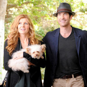 AMERICAN HORROR STORY, Connie Britton, Dylan McDermott