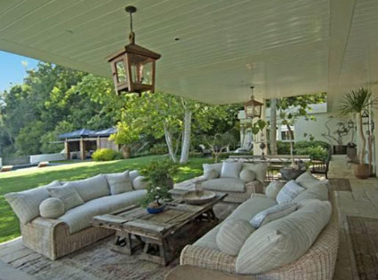 Ellen Degeneres, Portia De Rossi, Beverly Hills Home