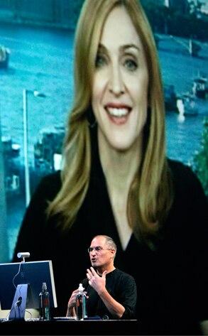 Steve Jobs, Madonna