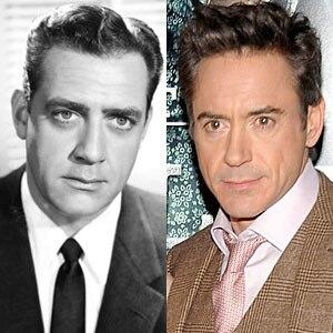 Raymond Burr, Perry Mason, Robert Downey Jr.