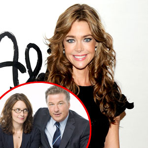 Denise Richards, Tina Fey, Alec Baldwin, 30 Rock
