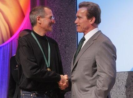 Steve Jobs, Arnold Schwarzenegger