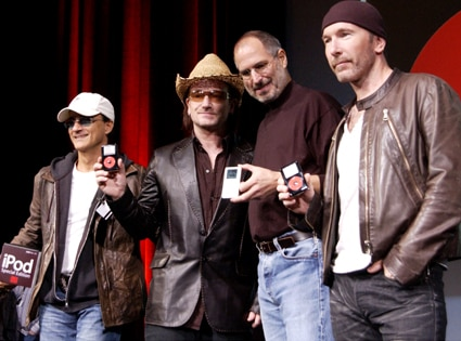 Steve Jobs, U2
