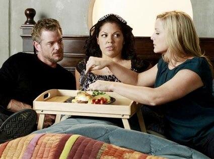 Grey's Anatomy, ERIC DANE, SARA RAMIREZ, JESSICA CAPSHAW