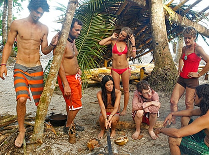 SURVIVOR: SOUTH PACIFIC, Keith Tollefso, Jim Rice, Elyse Umemoto, Whitney Duncan, John Cochran, Dawn Meehan, Ozzy Lusth
