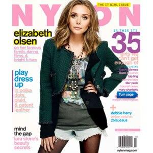 Elizabeth Olsen, Nylon Cover