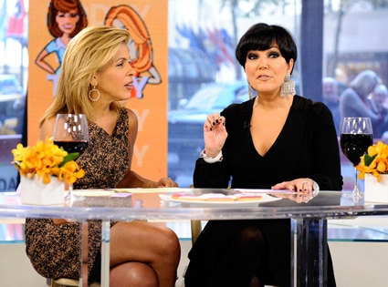 Kris Jenner, Hoda Kotb, The Today Show