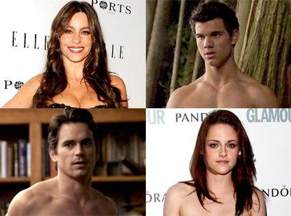 Sofia Vergara, Taylor Lautner, Matt Bomer, Kristen Stewart
