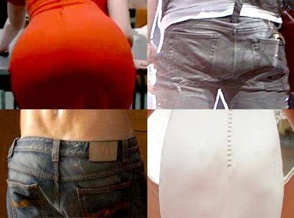Butt Split, Christina Hendricks, Nick Jonas, Ryan Reynolds, Pippa Middleton