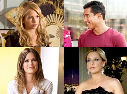 Brit Robertson, Secret Circle, Mario Lopez, H8R, Rachel Bilson, Hart of Dixie, Sarah Michele Gellar, Ringer