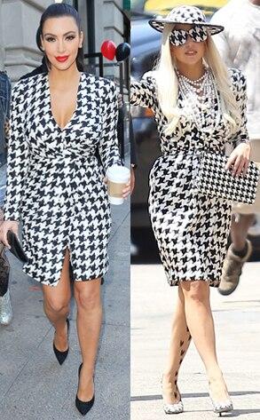 Kim Kardashian, Lady Gaga