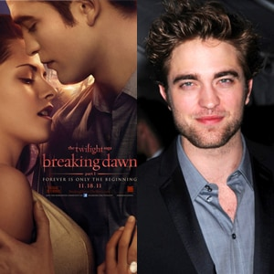 Robert Pattinson, Breaking Dawn Poster