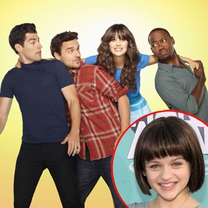 Joey King, Lamorne Morris, Jake Johnson, Max Greenfield, Zooey Deschanel, New Girl