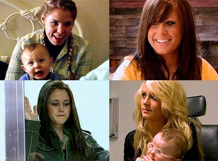 Teen Mom 2 Cast, Leah Messer, Jenelle Evans, Chelsea Houska, Kailyn Lowry