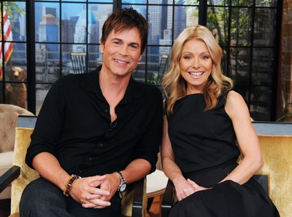 Rob Lowe, Kelly Ripa
