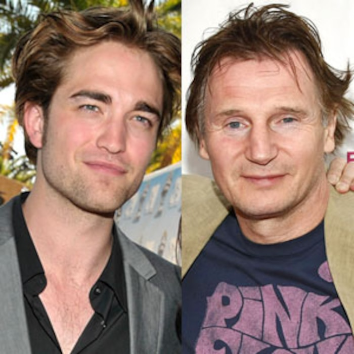 Robert Pattinson, Liam Neeson