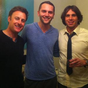 Chris Harrison, Baker Machado, Ben Flajnik
