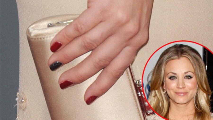 Kaley Cuoco, Nails