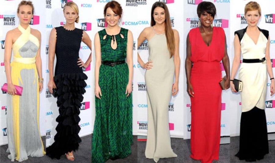 Diane Kruger, Emma Stone, Charlize Theron, Viola Davis, Shailene Woodley, Michelle Williams