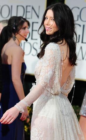 Jessica Biel, Golden Globes